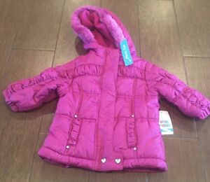 Sz 12 Months Do You Want To Buy Some Chinese Native Produce? Nwt Okie Dokie Girls Pink Jacket/coat
