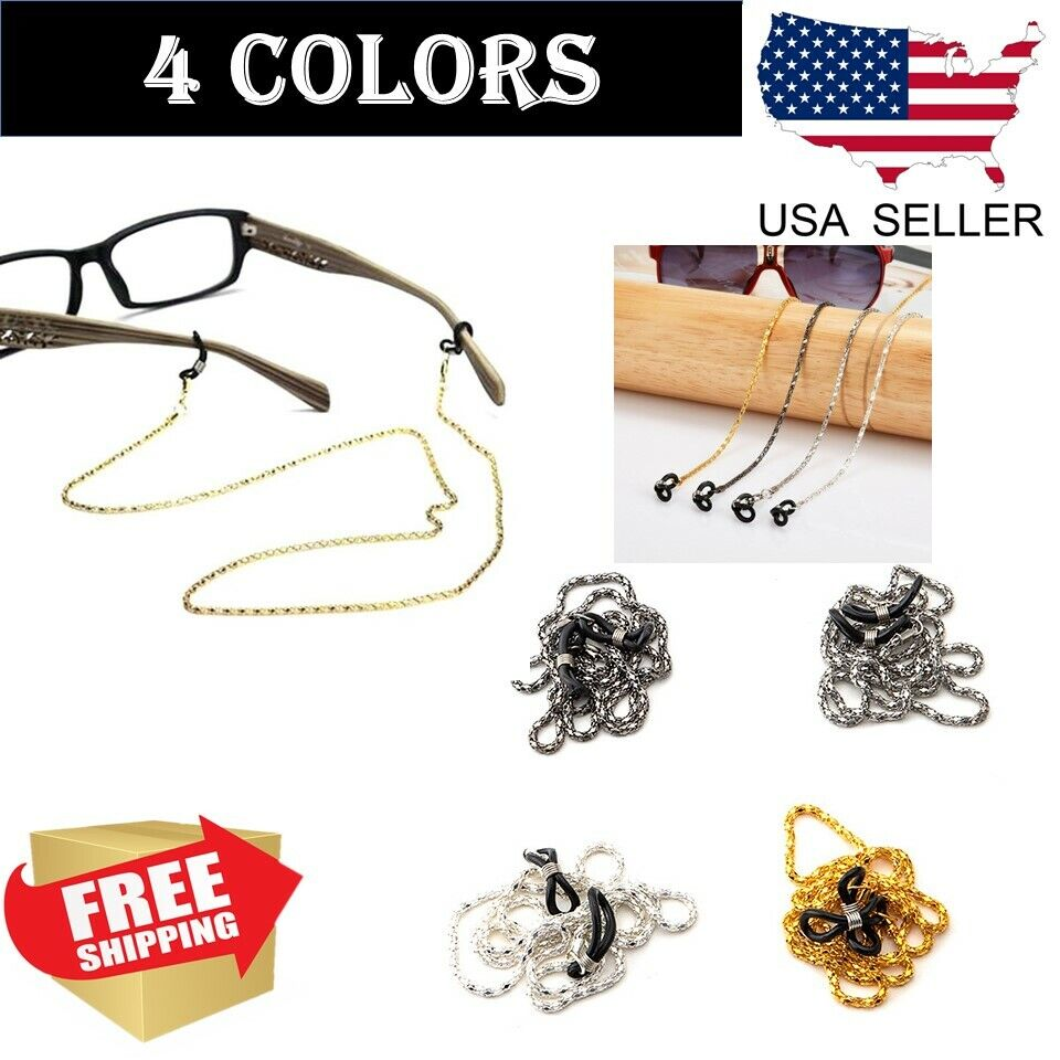 Cord for goggles brown 67 cm Ski Reading Clip Hangs necklace