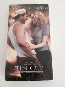 Tin-Cup-Golf-Pro-Kevin-Costner-Rene-Russo-VHS-Sealed