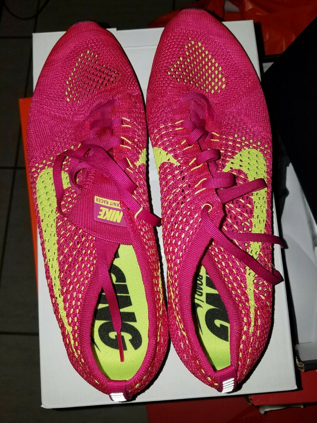 reputable site 74327 a573c Nike Flyknit Racer Hombre sz 10,5 10,5 10,5 Mujer SZ