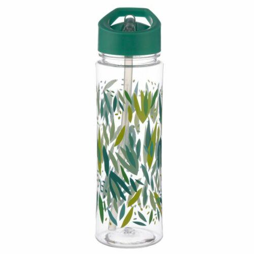 Willow 550 ml Plastique Sports d/'eau boissons Déjeuner Bouteille avec paille