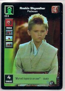 Star-Wars-Young-Jedi-CCG-Reflections-FOIL-4-Anakin-Skywalker-Padawan-FOIL-LINE