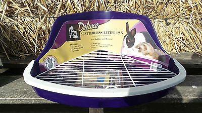 1 CORNER HIGH BACK LITTER PAN Chinchillas Ferrets Rabbits Small Animals Pet Box