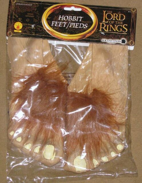 Lord of the Rings Hobbit Movie Feet Costume Halloween Frodo Bilbo Child