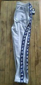 NWT $70 2XL  NBA Brand Sweatpants Joggers Pajamas Mens Gray New XXL