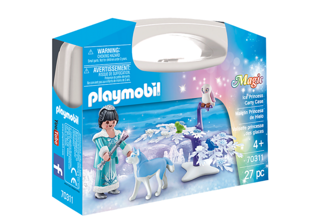 Playmobil #70311 Ice Princess Carry Case - New Factory Sealed