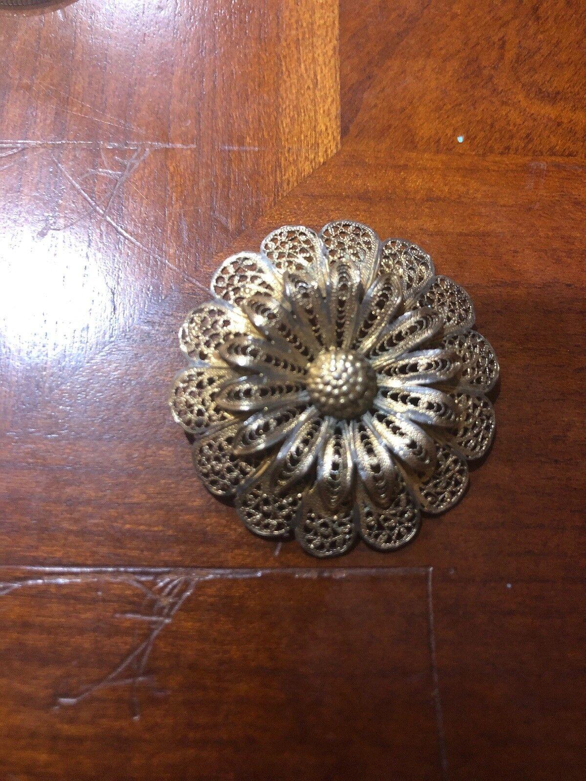 Vintage sterling  Pin Brooch