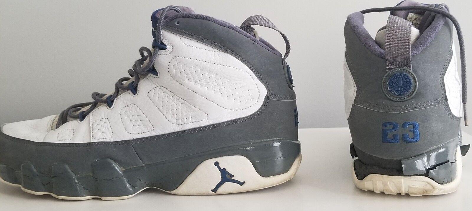 Air Jordan 9 Wolf grau Größe 14