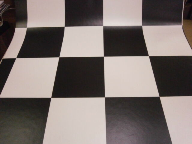 Vinyl Flooring Offcuts Kitchen Bathroom Napa Alicante 099 Black White 5.5m x 3m