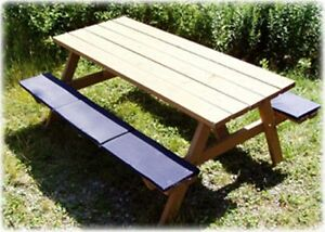 Image Is Loading Picnic Table Bleacher Seat Cushion Clearance Out Red