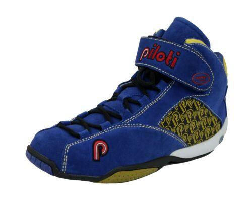 New Men/'s Piloti RSR Mid-Cut Driving Leather Boots Shoes Size 7-15 FIA SFI