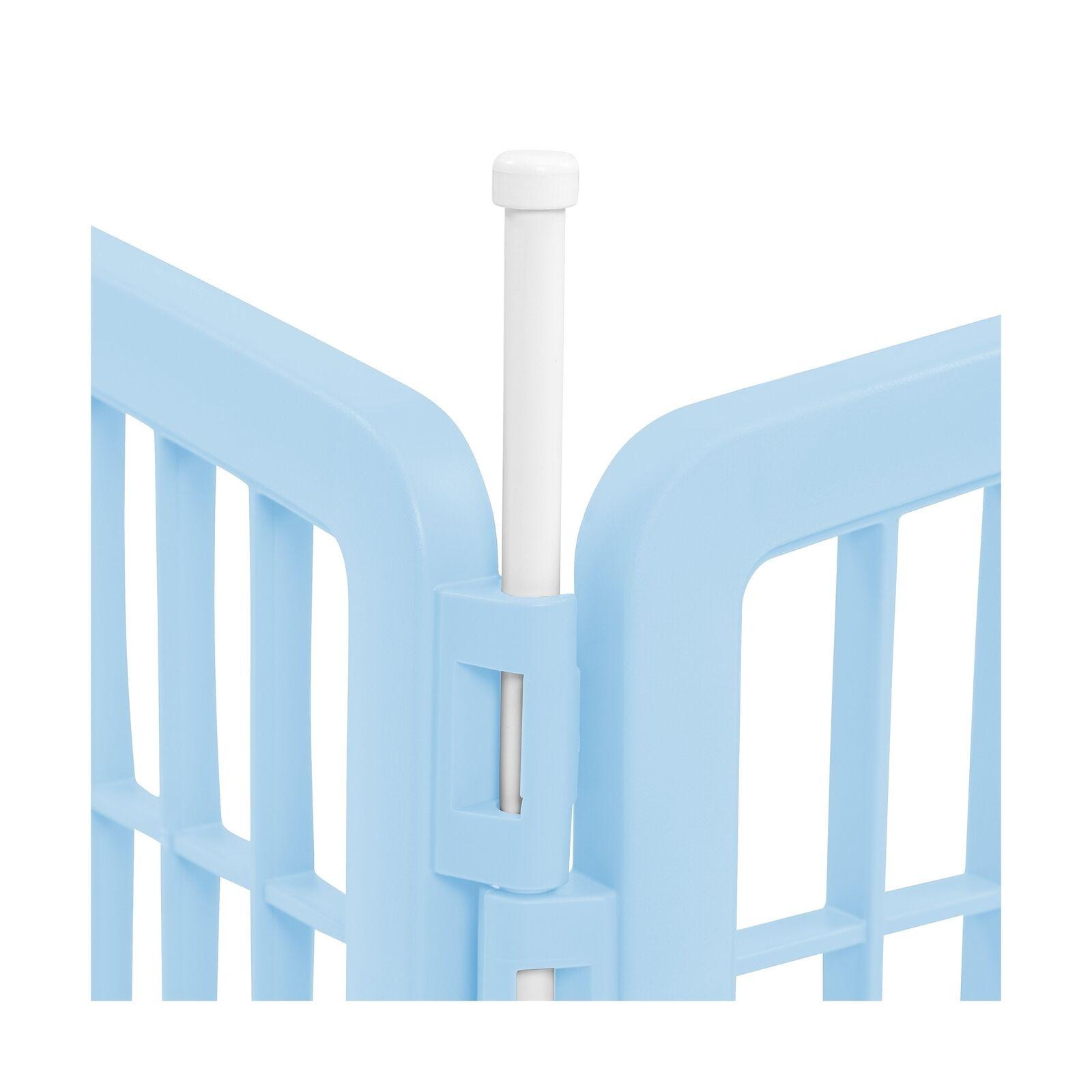 IRIS 24  4-Panel Pet Playpen blu 4 Panel Pen Pen Pen dc3164