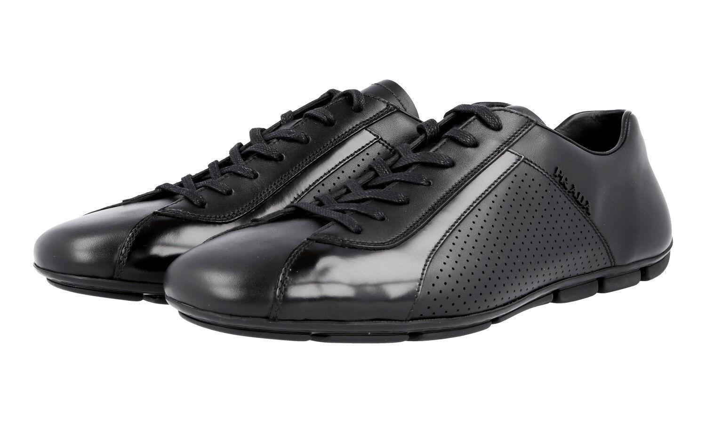 shoes PRADA LUXUEUX MONTE CARLO 2ED038 black NOUVEAUX 6,5 40,5 41