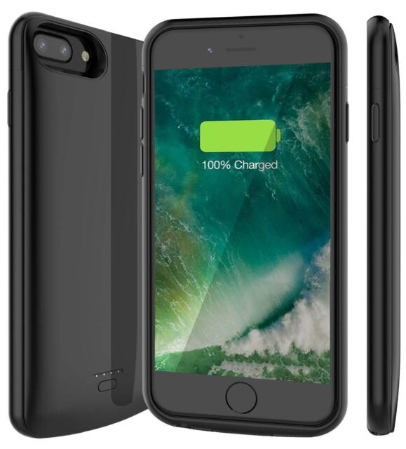 timeless design 53300 8781a For iPhone 6 6s 7 8 Plus Battery Charging Case External Power Bank Charger  Cover