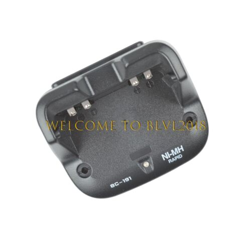 BC-191 BC191 Rapid Charger For ICOM V80 T70A F3001 F3210D F4100D RADIO
