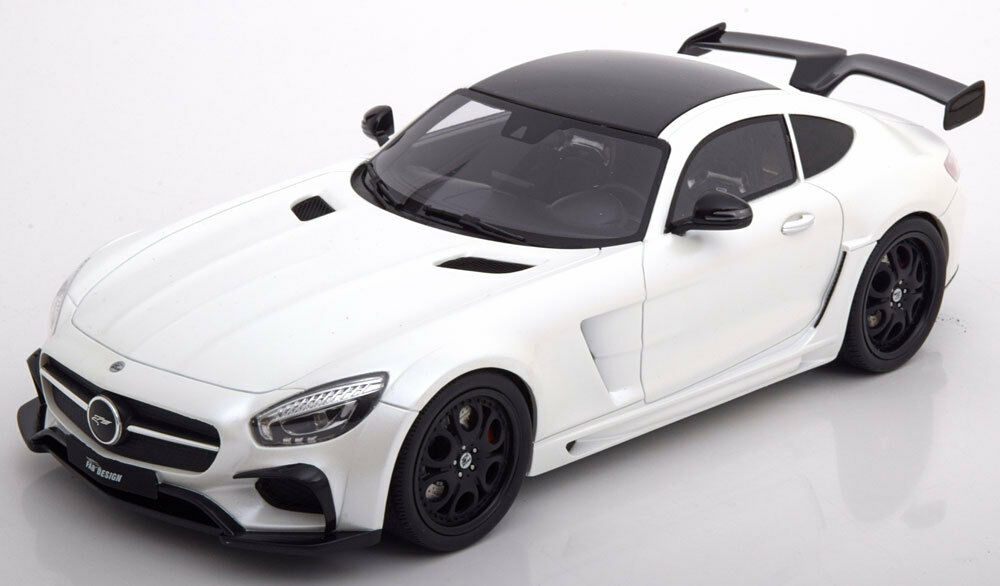 GT Spirit MERCEDES-BENZ AMG GT FAB DESIGN AREION Weiß 1 18 Scale LE of 999 New