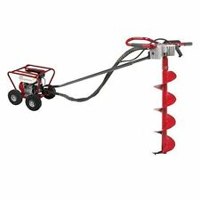 Little Beaver Auger Post Hole Digger With Roll Cage 5.5 Honda Engine