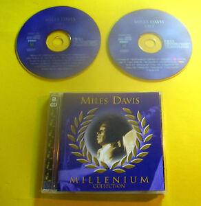 "2 CDs "" MILES DAVIS - MILLENIUM COLLECTION "" BEST OF / 36 SONGS (MILESTONES)"