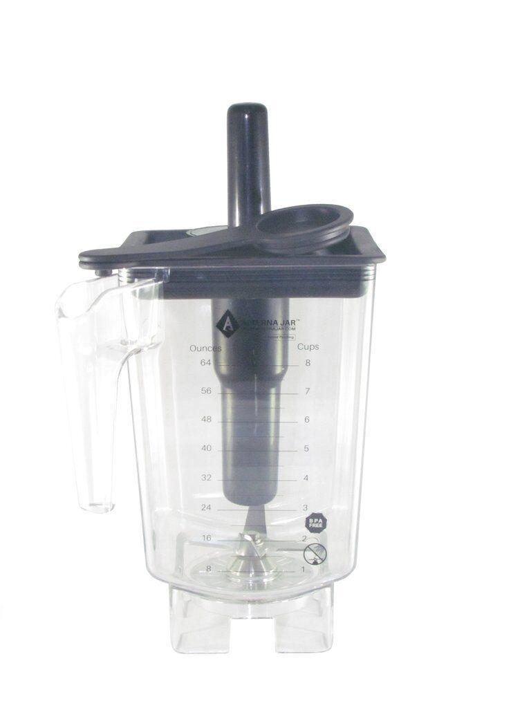 80 Oz (environ 2267.92 g) Alterna remplacement bocal de mélangeur + Tamper pour utilisation avec JTC OmniBlend