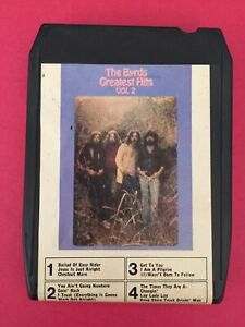 BYRDS Greatest Hits Vol. 2  42 64650  Made in UK  8 Track Tape