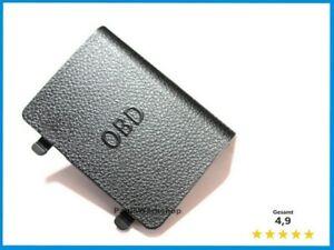 Original-NEU-BMW-Abdeckung-OBD-Stecker-51437147538-Schwarz-3er-E90-E91-E92-E93