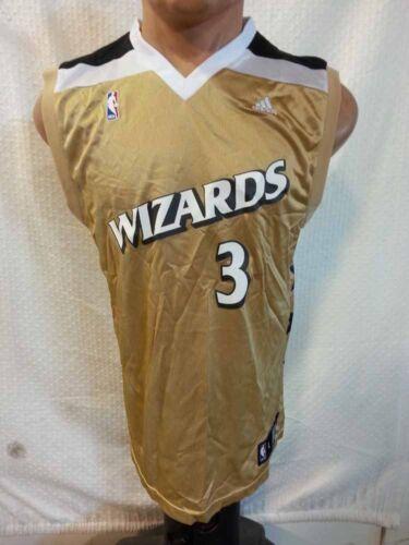... adidas NBA Jersey Wizards Caron Butler Gold Sz M eBay ... a8a7cf73c