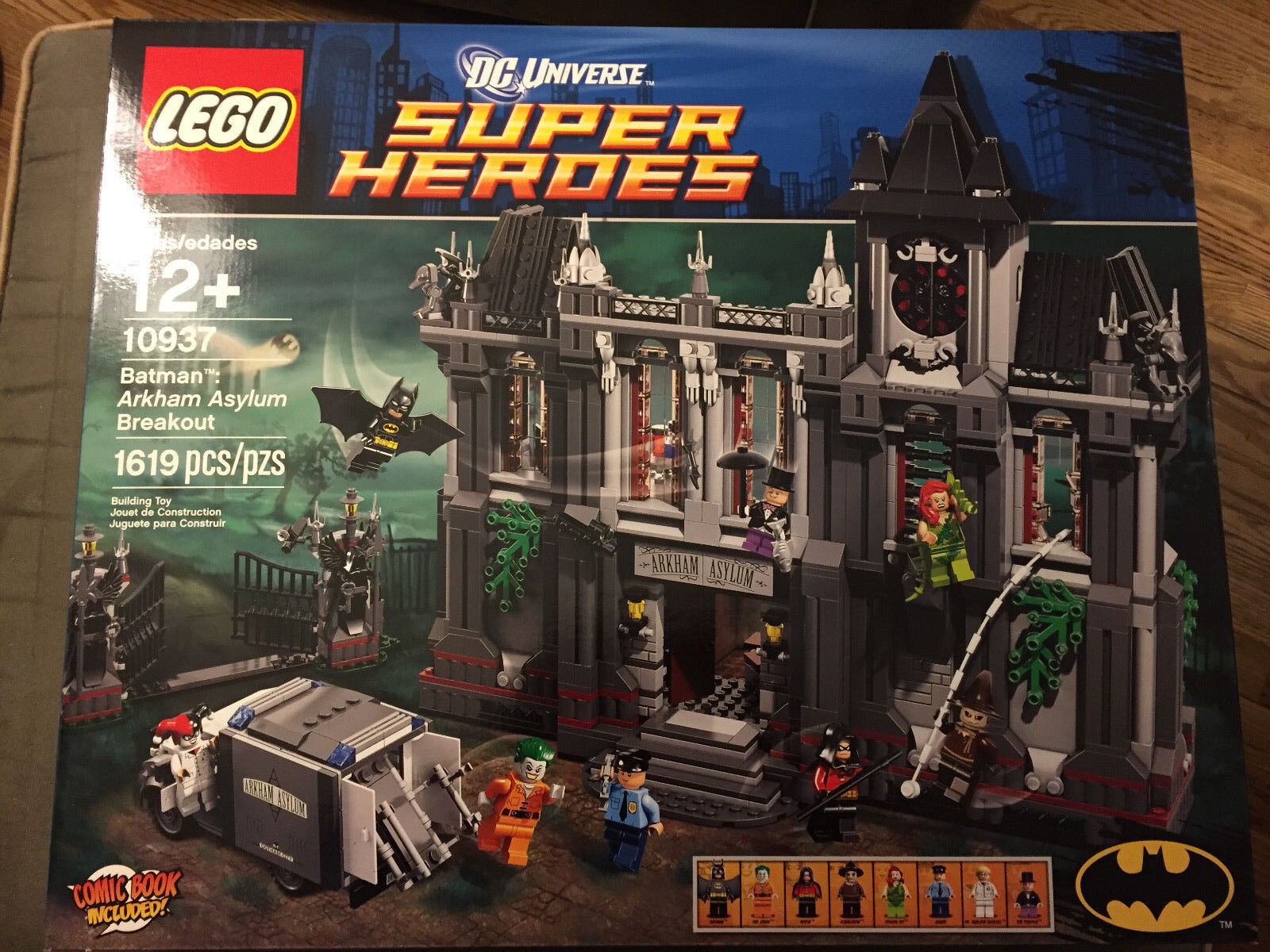 LEGO 10937 BATMAN  Arkham Asylum Breakout - DC Comics Comics Comics Universe - Sealed 6e00ab