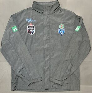 Classic-NRL-NSW-State-Of-Origin-2015-Wet-Weather-Jacket-Size-M-Excellent-Cond
