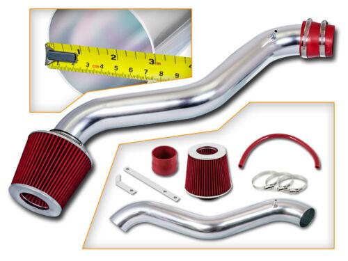 Ram AIR INTAKE Kit RED DRY Filter For 97-01 Honda Prelude Base SH 2.2L