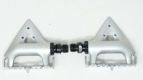 NOS SHIMANO 105 PD-1055 PEDALS QUILL VINTAGE ROAD RACING BIKE 80s EROICA NEW 90s