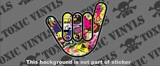 NO WORRIES HAND STICKER BOMB sticker decal vw dub euro pug jdm drift sticker