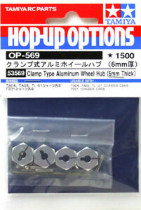 Tamiya-53569-OP569-Clamp-Type-Aluminum-Wheel-Hub