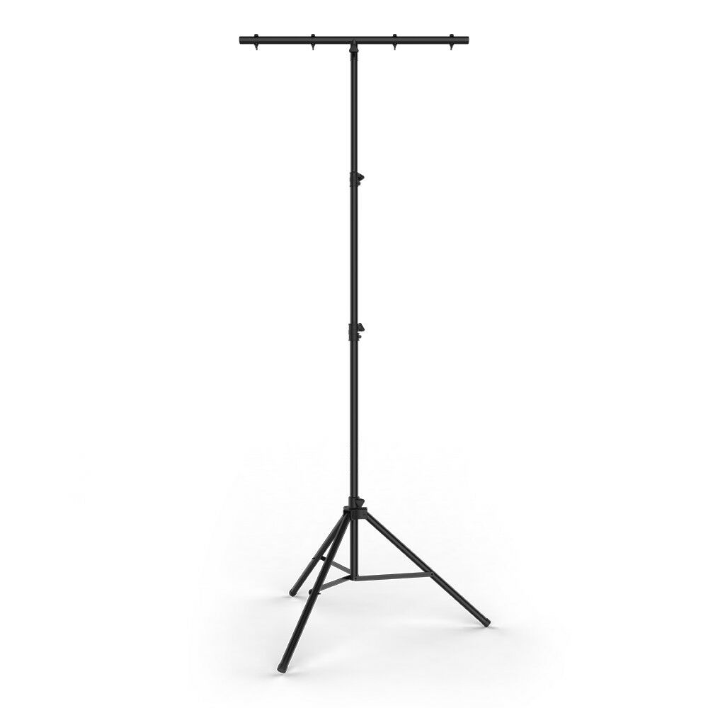 Chauvet CH-03 Heavy Duty T-Bar Lighting Stand Extends up to 3.7M Disco DJ Stage