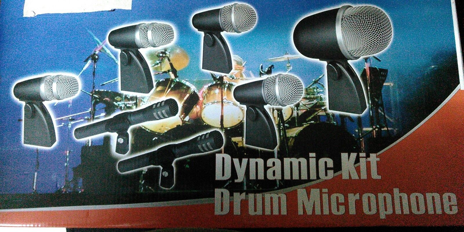 Shure Replica Drum Kit Mic Microphone 7 pieces Professional Dynamic Mic System