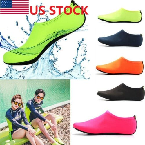 2018 Adult Kids Skin Water Shoes Beach Socks Yoga Exercise Pool Swim On Surf hot