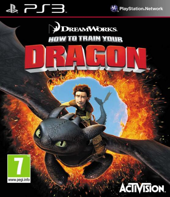 PS3 Jeu Dragons Apprivoisés en Toute Simplicités 1 How To Train Your Produit