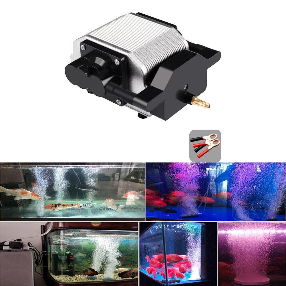 16W Electromagnetic Aquarium Mute Oxygen Pond Non-slip Air Pump Aerator