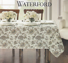 Merveilleux Item 2 Waterford Easy Care Stain Resistant Tablecloth Elena Floral Neutral  60 X 104 NEW  Waterford Easy Care Stain Resistant Tablecloth Elena Floral  Neutral ...