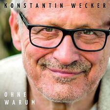 Konstantin Wecker - Ohne Warum - CD NEU + OVP!