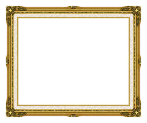 "NEW Gold Wood Picture Frame Giclee Canvas Art Paintings 2 7//8/"" wide High Quality"