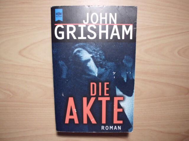 Buch Roman - John Grisham - Die Akte - Taschenbuch