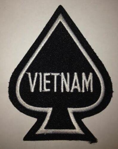 Vietnam Death Spade Embroidered Cloth Patch H030801