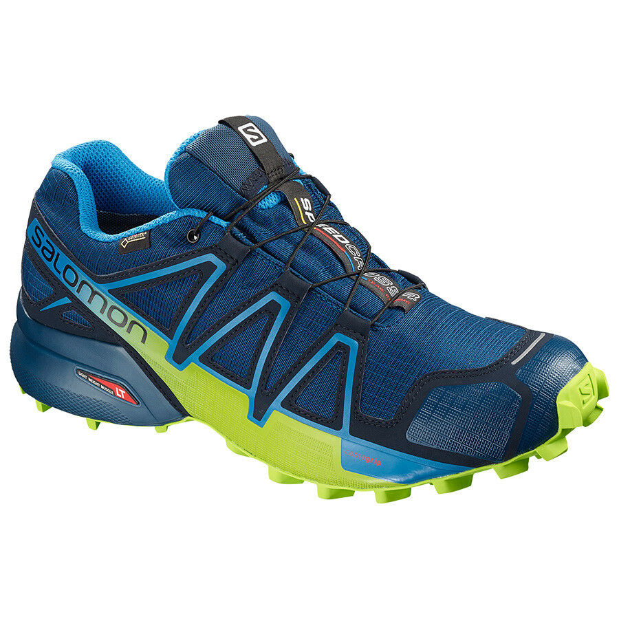 Zapatos Trail Running SALOMON SPEEDCROSS 4 GTX Poseidon Azul marino Blazer Lima