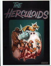 The HERCULOIDS Saturday Morning PROMO PRINT Hanna Barbera Igoo Zandor Gloop Zok