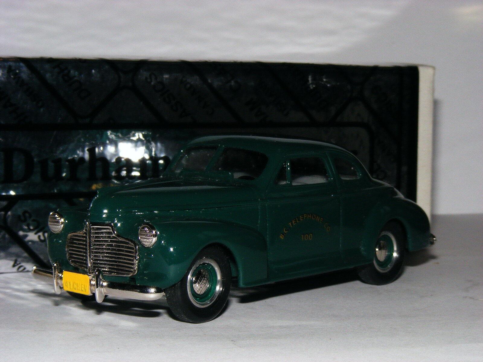 Durham Classics DC-5B 1941 Chevrolet Coupe BC Telephone Co LTD ED 1 43