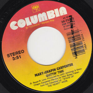 MARY-CHAPIN-CARPENTER-Quittin-039-Time-7-034-45