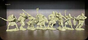 Soldatini e figurini di Publius  Vichinghi Plastica gommata morbida Rarità