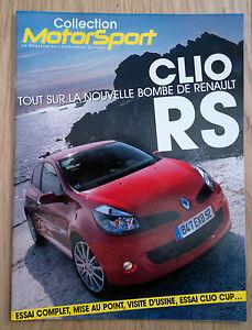 MAGAZINE-MOTORSPORT-CLIO-RS-CLIO-CUP-08-2006-NEUF-POSTER