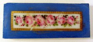 XIX-eme-Siecle-Plaque-de-porcelaine-Polychrome-Sevres-pour-Pendule-Cartel