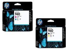 2x Testina di stampa HP OfficeJet Pro 8000 8500 8500A Plus/Nr. 940 C4900A C4901A